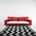 3D rendered sofa in a room Royalty Free Stock Photo