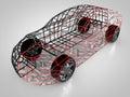3D rendering: car technology