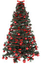 D rendering of a christmas tree an ordinary Stock Image