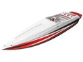 D rendering of a generic speed boat typical Royalty Free Stock Photography
