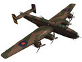 3d Rendering Of A Handley Page...