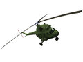 D rendering of a mi helicopter russian Stock Images