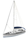 D rendering of a sail boat generic Stock Photos