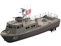 D rendering of a swift patrol boat vietnam war era Royalty Free Stock Image