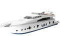 D rendering of a yacht generic Royalty Free Stock Image