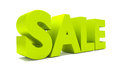 D sale text letters render discount Royalty Free Stock Photos