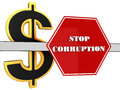 The 3d sign of `stop corruption`