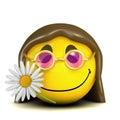 3d Smiley hippy