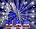 D usa for the u s national holidays background Stock Image