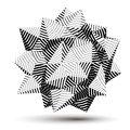 3D Vector Abstract Design Obje...