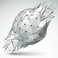 3d Vector Low Poly Object With...