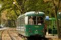 Düwag gt in poznan poland tram model produced the years to by the german company waggonfabrik düsseldorf tramway the Stock Photos