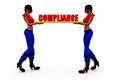 3d woman complains concept