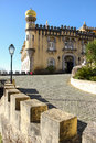 Da pena palace sintra portugal palacio the is a unesco world heritage site Royalty Free Stock Photo