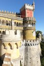 Da pena palace sintra portugal palacio the is a unesco world heritage site Royalty Free Stock Photography