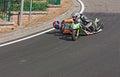 Da velocidade side-car para baixo Imagem de Stock