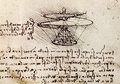 Da Vinci drawing Stock Photography
