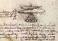 Da Vinci drawing Royalty Free Stock Photo