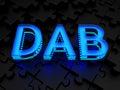 Dab digital audio broadcasting computer generated image d render Stock Photo