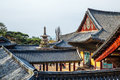 Dabotap and Korean old architecture, Bulguksa Temple UNESCO World Heritage in Gyeongju, Korea Royalty Free Stock Photo