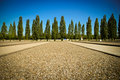 Dachau concentration camp Stock Photo