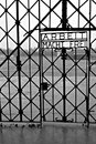 Dachau (main gate) Royalty Free Stock Images