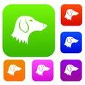 Dachshund dog set collection