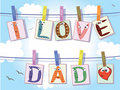 Dad day Royalty Free Stock Photo