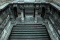 Dada hari step well photo of staircase which is a heritage structure located at ahmedabad gujarat india used in early Royalty Free Stock Photo