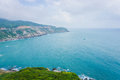 Dai Lanh coastline, VietNam Royalty Free Stock Photo