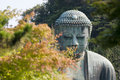 Daibutsu or budha amida in kotokuin temple japan Royalty Free Stock Image