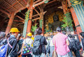Daibutsu in the Daibutsu-den at Todaiji Temple Royalty Free Stock Photo