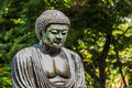 Daibutsu a replica of the great buddha of kamakura at foster botanical gardens on oahu hawaii Stock Photos