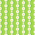 Daisy Chain Pattern Royalty Free Stock Photo