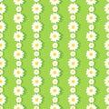 Daisy Chain Pattern Royalty Free Stock Photo