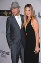 Daisy Fuentes,Matt Goss Royalty Free Stock Photos