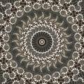 Daisy kaleidoscope Stock Photography