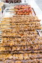 Dakkochi Chicken Skewers Stock Image