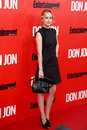 Dakota johnson new york sep actress attends the don jon new york premiere at the sva theater on september in new york city Royalty Free Stock Images