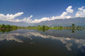 Dal lake at srinagar jammu kashmir Royalty Free Stock Images
