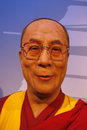Dalai lama july berlin the wax figure of the opening of the waxworks madame tussauds unter den linden berlin Royalty Free Stock Images