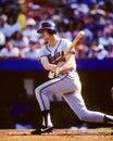 Dale murphy atlanta braves former slugger image taken from color slide Stock Image