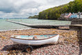 Dale pembrokeshire west wales boats at is a small village on the coast of uk europe Stock Photos