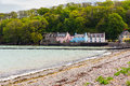 Dale pembrokeshire west wales is a small village on the coast of uk europe Royalty Free Stock Images