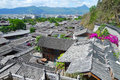Dali old city the in the yunnan province in china Royalty Free Stock Image