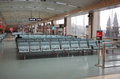 Dalian international airport in lining province china this is terminal for customer Royalty Free Stock Photo