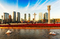 Dalian Xinghai square Royalty Free Stock Photo