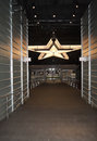 Dallas Cowboy VIP Entrance Royalty Free Stock Photos