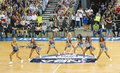 Dallas Mavericks cheerleaders Stock Photo