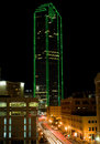 Dallas Texas Skyline (night) Royalty Free Stock Images